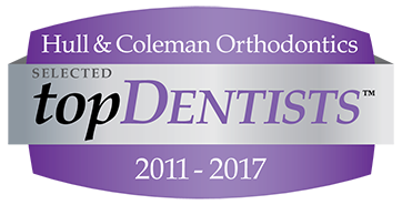 Top Dentist for Hull and Coleman 2011- 2017